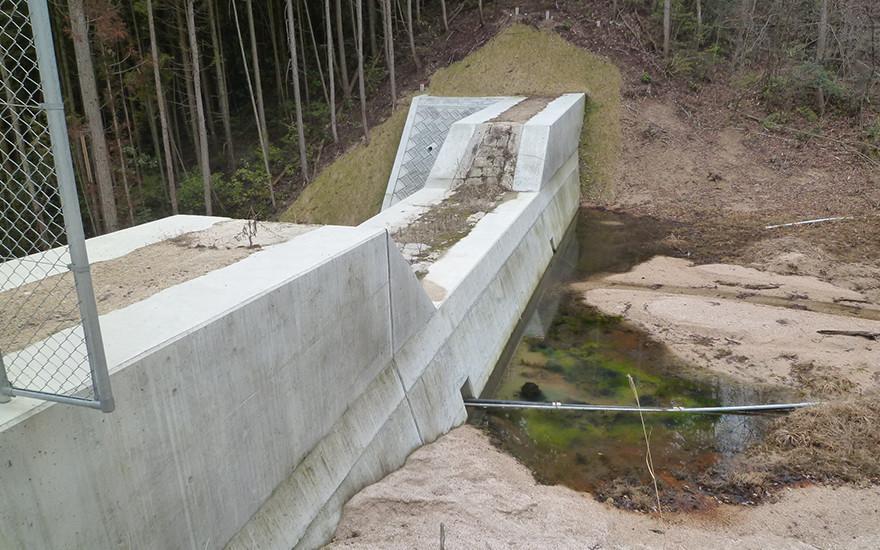 通常砂防事業に伴う業務委託一級河川小瀬川水系観音谷川(大竹)