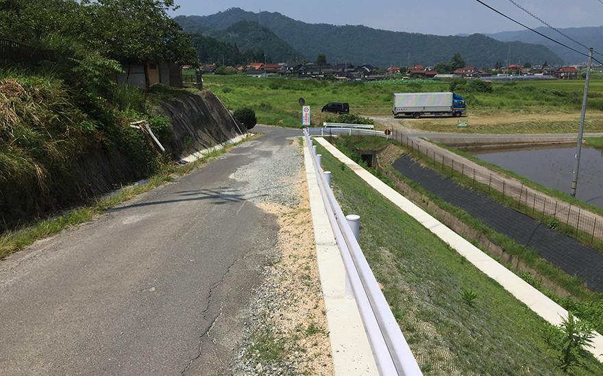 道整備交付金事業 市道道越多治比田線測量設計業務
