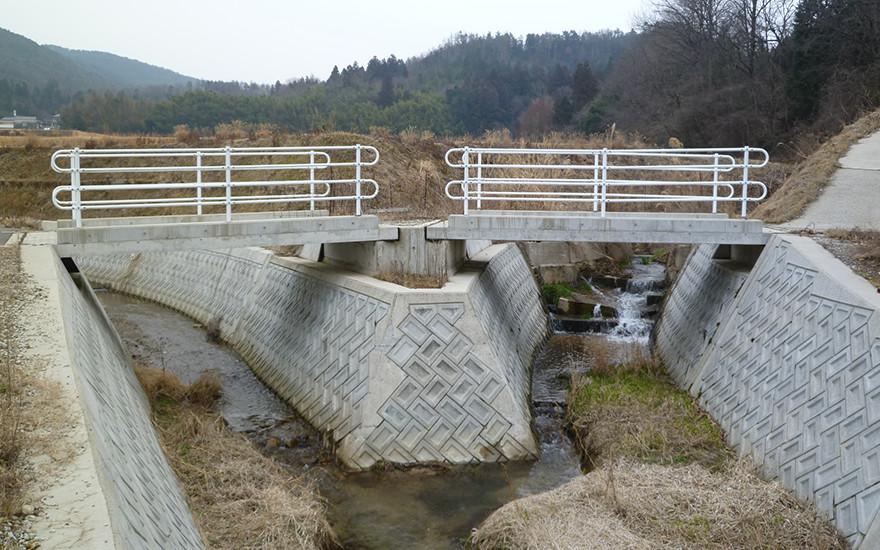 通常砂防事業に伴う業務委託砂防指定地内河川莇原川