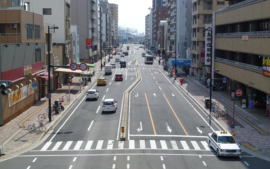 鷹野橋宇品線測量及び実施設計業務