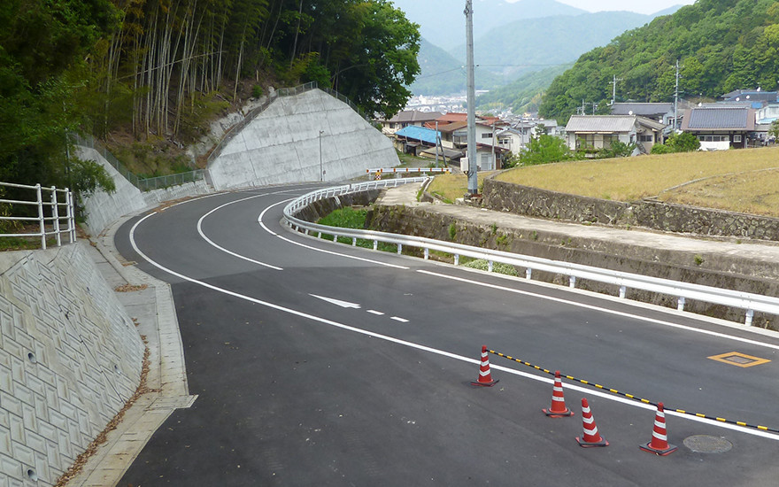 町道6号線バイパス道路設計業務